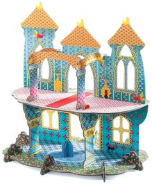 Djeco Pop To Play Castle Of Wonders