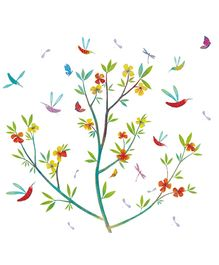 Djeco Flowers Of Spring Wall Stickers - 33 Pieces