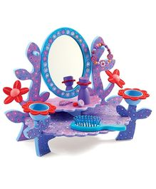 Djeco Children Toys Aurelias Wooden Dressing Table - Purple