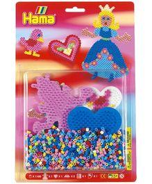 Hama Midi Princess And Heart Mix Beads Pack