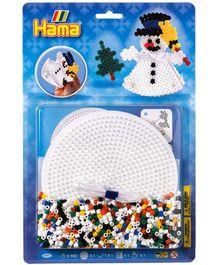 Hama Midi Round Pegboard Beads Pack