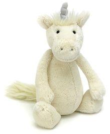 Jellycat Bashful Unicorn Soft Toy - Small