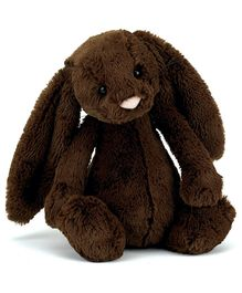 Jellycat Bashful Chocolate Bunny Soft Toy Medium - 31 cm