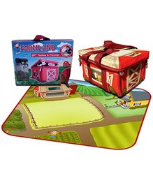 Neat-Oh! Farmland Toybox And Playmat