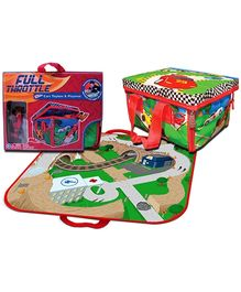 Neat-Oh! ZipBin Full Throttle Cars Toybox And Playmat