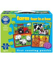 Orchard Toys Farm Four In A Box