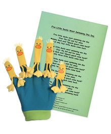 Puppet Company Favourite Song Mitts Five Little Ducks Glove Puppet - 37 cm