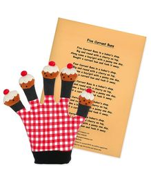 Puppet Company Five Currant Buns Song Mitten - 32 cm