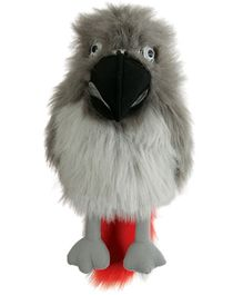 Puppet Company Children Toys African Grey Parrot Hand Puppet - 45 cm