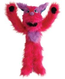 Puppet Companys Children Toys Pink Monster - Hand Puppet