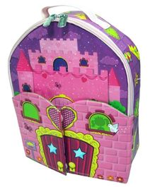 ZipBin Neat Oh Princess Bring Along Doll House Backpack