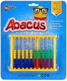 Sunny Abacus with Stand - Yellow
