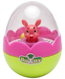 Venus Muscial Bunny RolyPoly Toy - Pink