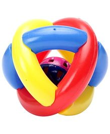 Funworld Rattle Ball 6 Months Plus (Color May Vary)