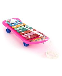 Speedage 2 In 1 Pull Along Music Masti Xylophone (Color May Vary)