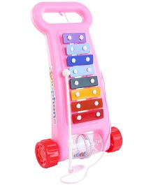 Nirmal Music Maker Pull Along Xylophone - Multicolor