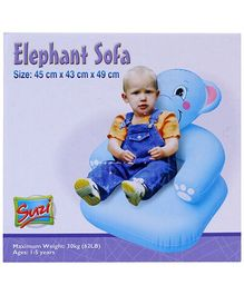 Suzi Inflatable Elephant Sofa - 45 x 43 x 49 cm