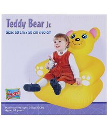 Suzi Inflatable Teddy Bear Sofa Junior - 50 x 50 x 60 cm