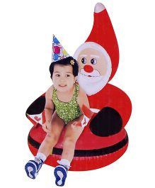 Suzi Santa Claus Or Snowman Inflatable Sofa - 50 x 50 x 50 cm