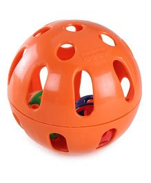 Fisher Price Woobly Fun Ball - Orange