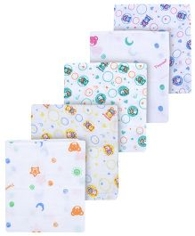 Tinycare Square Baby Nappy Small - Pack Of 5