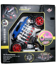 Adraxx Multi Functions Exciting Stunt Car Model Cum Robot Toy