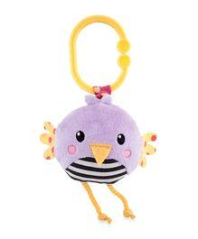 Sassy Jitter N Go Bird Clip On Toy