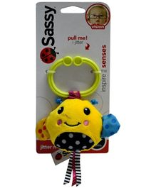 Sassy Jitter N Go Bee Clip On Toy