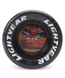 Disney Pixar Cars Pistoon Cup Cars Embossed Bowl Black - 17 cm