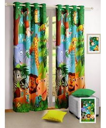 Swayam Digitally Printed Kids Door Curtain With Eyelit