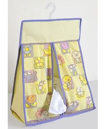 Swayam Digital Tweety Print Diaper Stacker Standard Size - 20 X 18 X 8 Inches