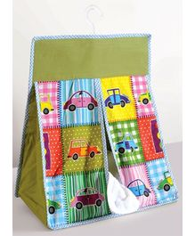 Swayam Digital Car Print Organiser Diaper Stacker Standard Size - 20 X 18 X 8 Inches