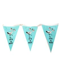 Party Anthem It's a Boy Flag Banner