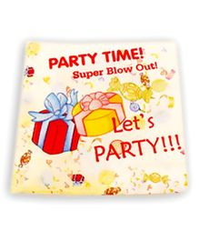 Party Anthem Party Time Paper Napkins - Pack Of 40