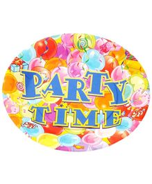 Party Anthem Party Time Paper Plates - Pack of 24