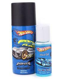 Hotwheels Gift Set Hand Gel and Deodorant