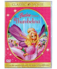 Reliance Big Home Videos Barbie Presents Thumbelina DVD - English