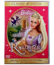 Reliance Big Home Videos Barbie As Rapunzel DVD - English