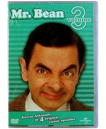 Reliance Big Home Videos Mr Bean Live Action Volume 3 DVD - English