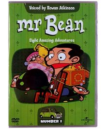 Reliance Big Home Videos Mr Bean Eight Amazing Adventures Volume 1 DVD - English