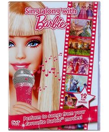Reliance Big Home Videos Sing Along With Barbie DVD - English