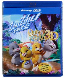 Reliance Big Home Videos Zhu Zhu Pets The Quest For Zhu Blu Ray Disc 3 D - English