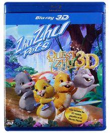 Reliance Big Home Videos Zhu Zhu Pets The Quest For Zhu Blu Ray Disc 3 D - English