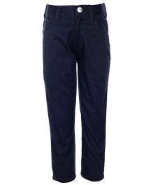Gini & Jony Full Length Plain Trouser With Belt