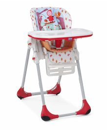 Chicco Polly Highchair 2 In 1 Happyland - Upto 14 Kg