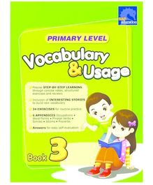 Singapore Asian Publication Primary Level Vocabulary And Usage Book 3 - English