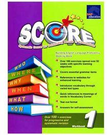 Singapore Asian Publication Primary Level Score Workbook 1 New - English