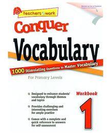 Singapore Asian Publication Conquer Vocabulary For Primary 1 - English