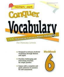 Singapore Asian Publication Conquer Vocabulary For Primary 6 - English
