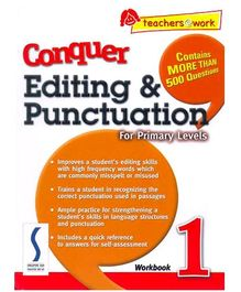 Singapore Asian Publication Conquer Editing And Punctuation For Primary 1 - English